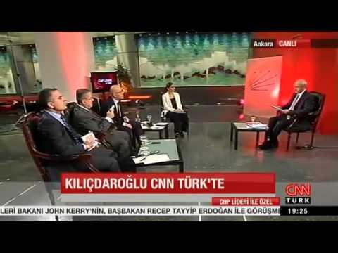 Kemal Kılıçdaroğlu, CNN TÜRK özel yayını