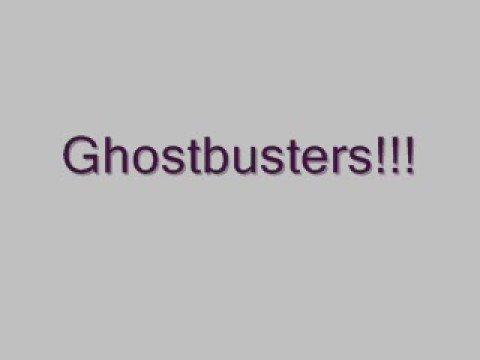 Ghostbusters lyrics