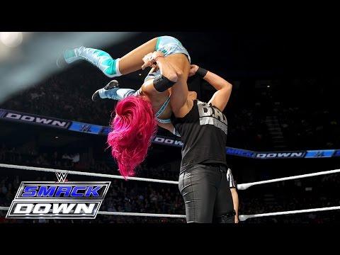 Sasha Banks vs. Tamina: SmackDown, February 18, 2016