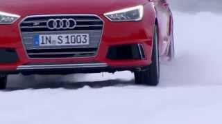 Тест-драйв новой Audi S1 на снегу