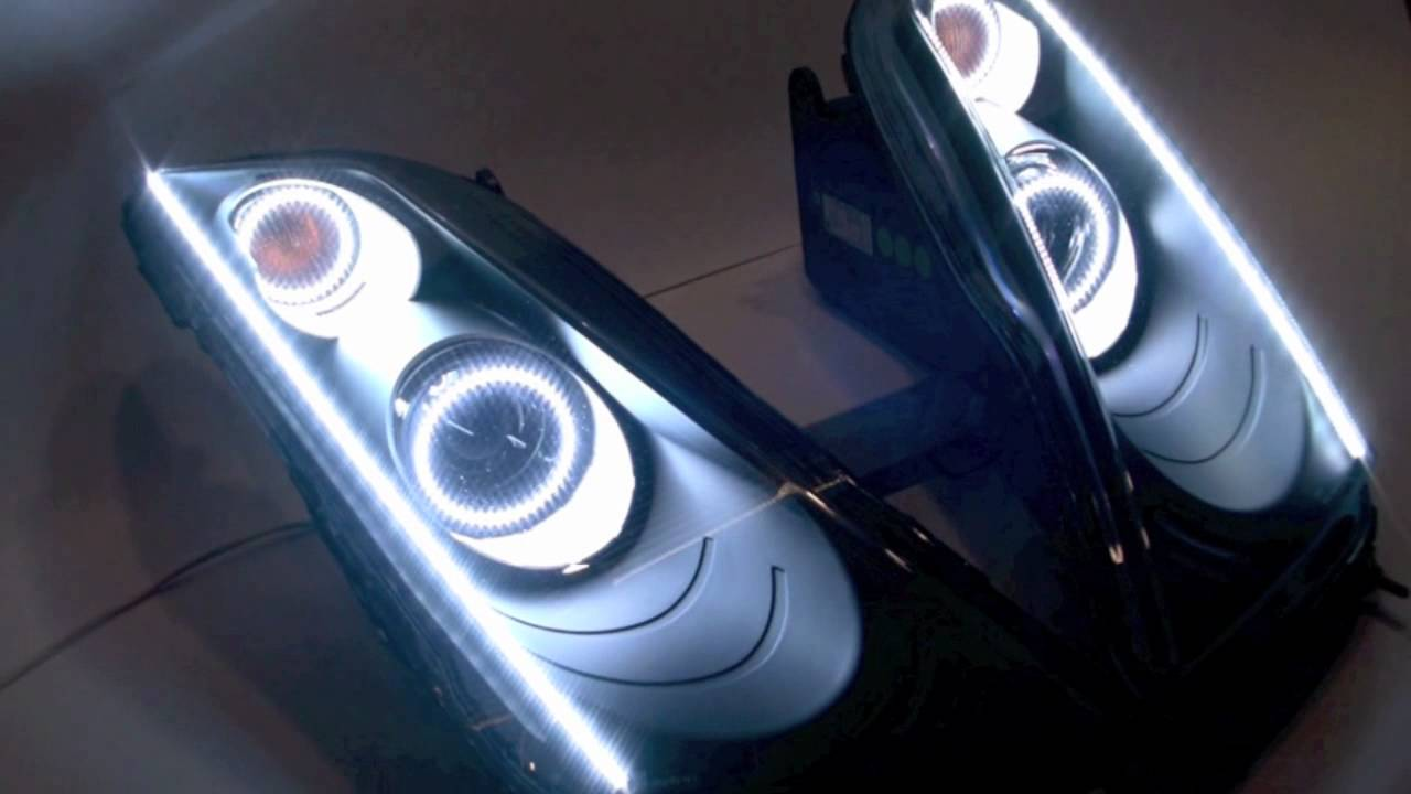 Lamborghini Gallardo Superleggera Custom Lighting Installation By
