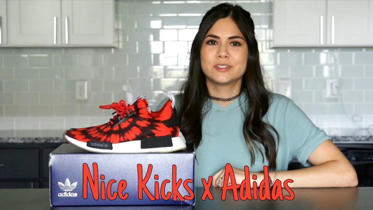 e6b909475 Nice Kicks X Adidas Consortium NMD Review   On Feet - YouTube