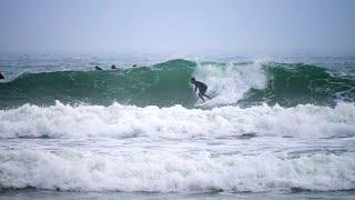 Surfing The Best Point Break In Florida!
