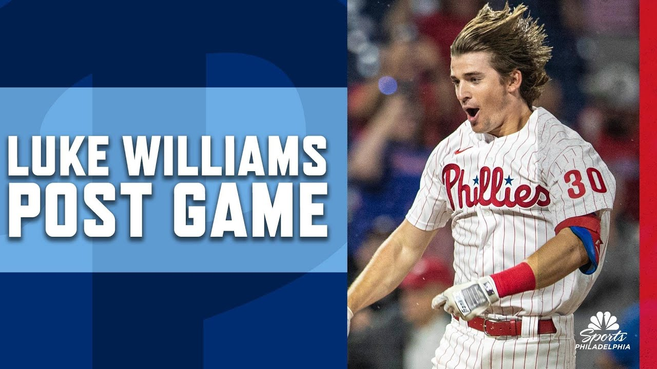 Luke Williams' family is sharing in the rise of their Phillies' overnight ...
