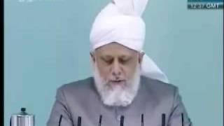 Проповедь Хазрата Мирзы Масрура Ахмада, (07-05-10) часть 3
