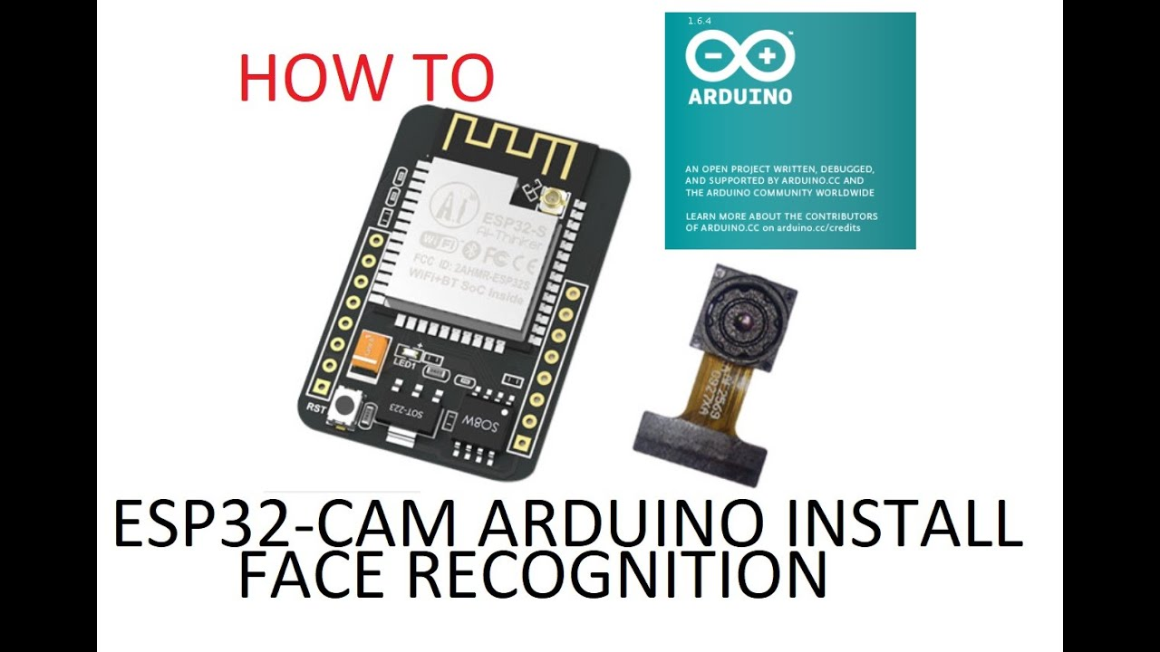 How to install esp32-cam face recognition with arduino IDE (ESP32 OV2640)