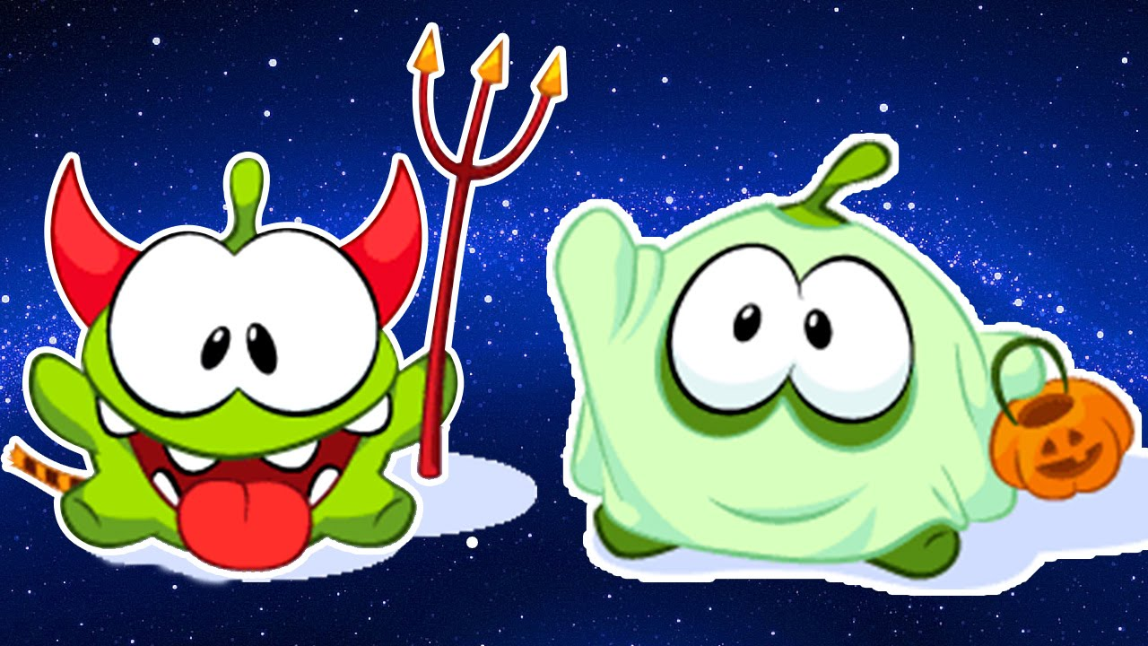 Om Nom Stories Cartoons For Children Halloween Special