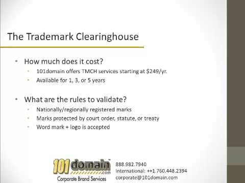 Trademark Clearinghouse Primer