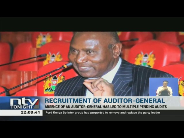 Interviews for a replacement of former Auditor General, Edward Ouko underway