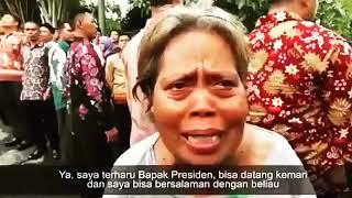Jokowi sempatkan sapa dan salami rakyat di Magetan