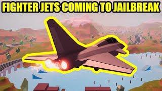 NEW FIGHTER JET Coming to Jailbreak!!! | Roblox Jailbreak Planes Update
