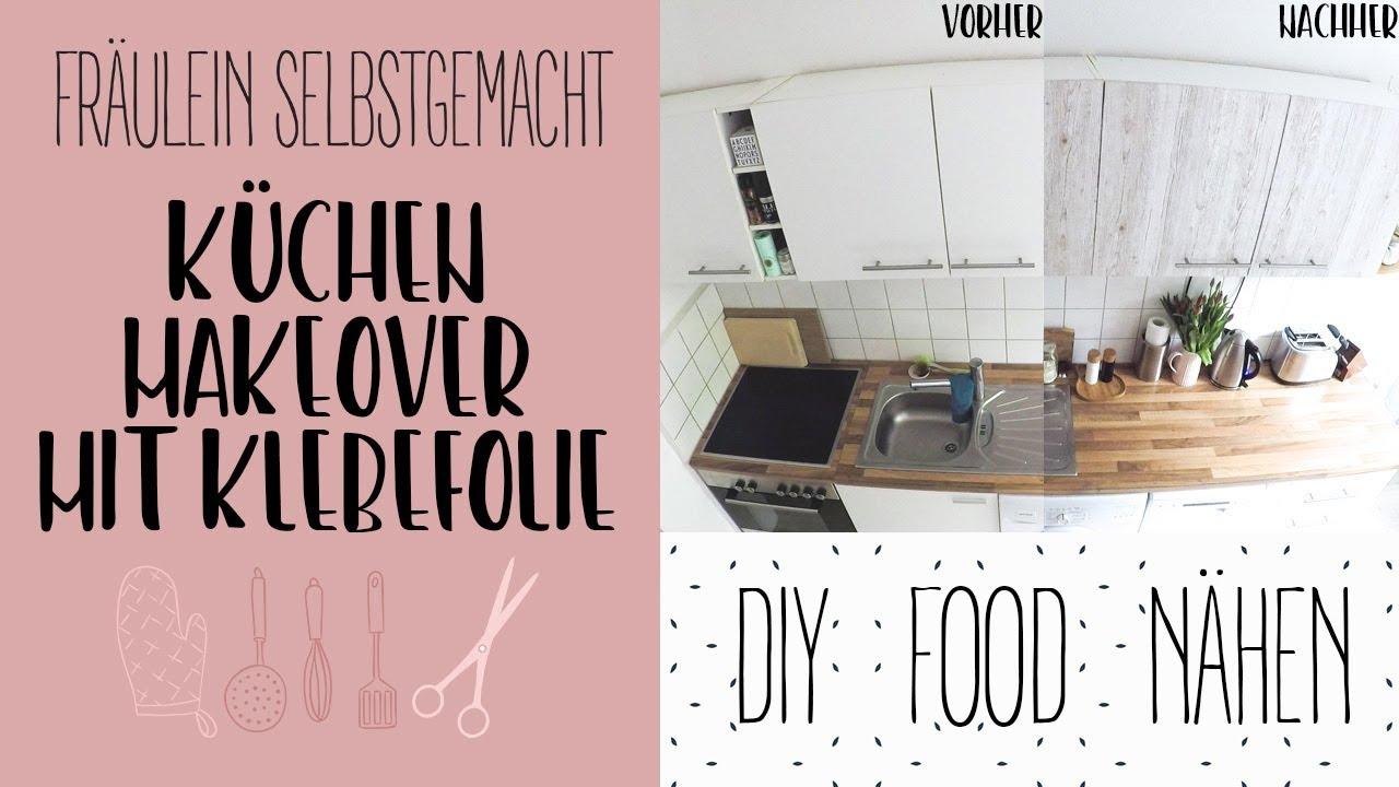 Küchen Makeover - IKEA Küche mit Klebefolien umgestalten