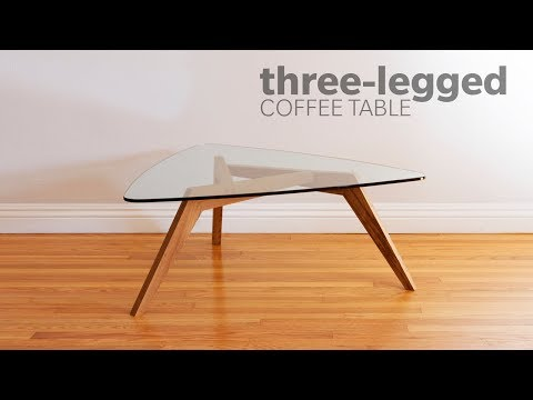 Tiga Side Table.How To Build A Mid Century Modern Coffee Table With 3 Legs