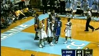 03/06/2005:  #6 Duke Blue Devils at #2 North Carolina Tar Heels
