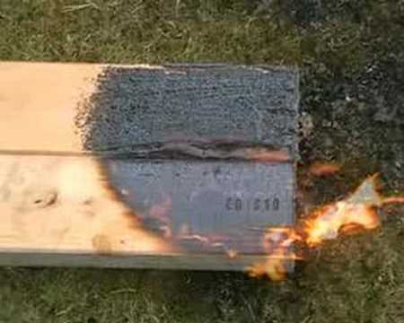 Nanotechnology Fire Protection for Wood