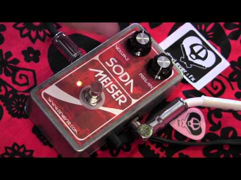 Devi Ever Soda Meiser Fuzz guitar effects pedal demo