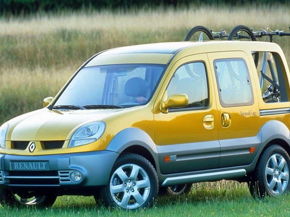 #1929. Renault kangoo break up 2002 (Prototype Car)