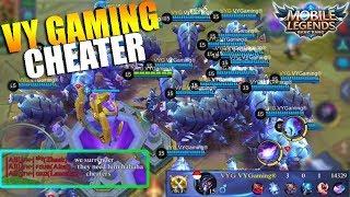 VY GAMING ADALAH CHEATER - Ketika Bug Disangka Ngecheat 😂😂😂 (Mobile Legends Indonesia)