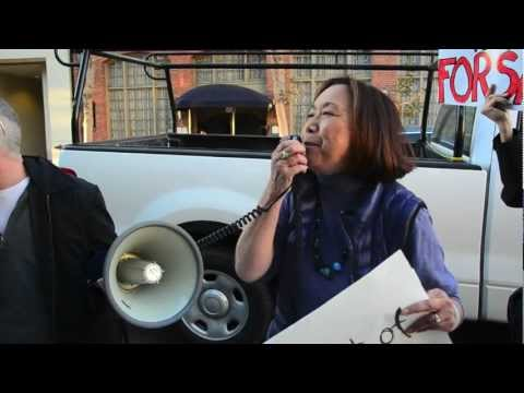 Anti-David Lee Protest @ The Association of San Francisco Realtors (Clip 11)