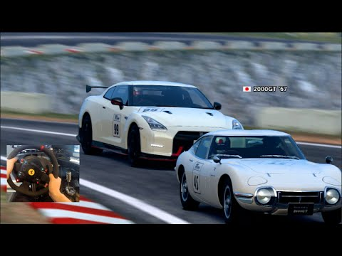 GT6 GoPro Sierra Time Rally GTO/R35 ARCADE STYLE - (Rally Week Day 5)