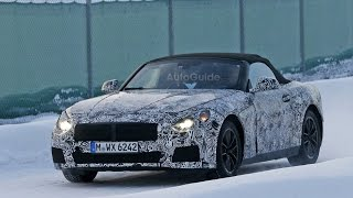 BMW Z5/Toyota Supra Caught On Spy Video
