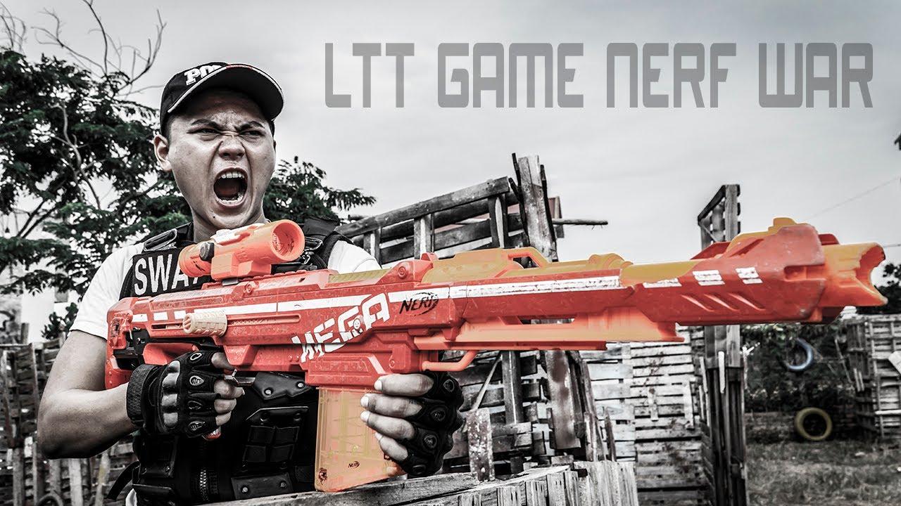 LTT Game Nerf War : Warriors SEAL X Nerf Guns Fight Rocket Crazy Thief Pretending Police Officer