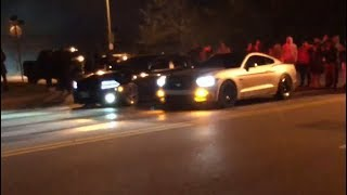 Real 2019 Street Racing 392 Charger Vs 5 0 Mustang!!