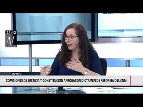 Entrevista en el programa @2018Ntv con @MavilaHuertasC vía @canalN_ 2da. Parte