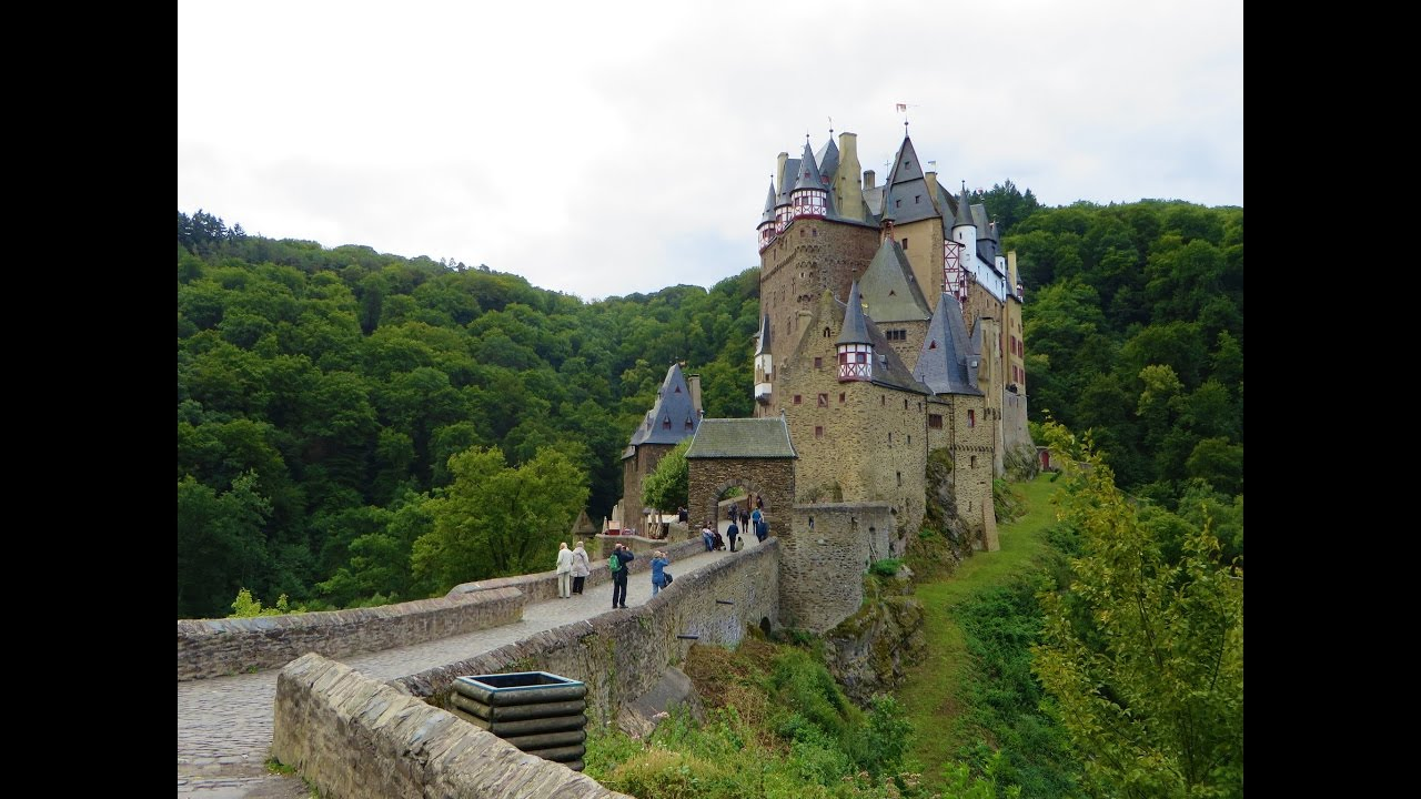 Burg Eltz Meval Castle Between Koblenz Trier Germany Near The Moe River