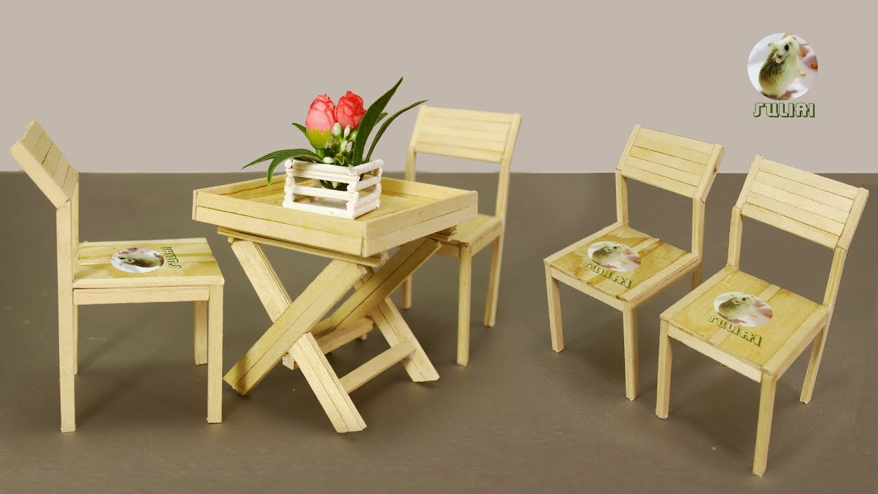 Miniature Table Chairs Design Diy How To Make Outdoor Garden Coffee Table Chairs