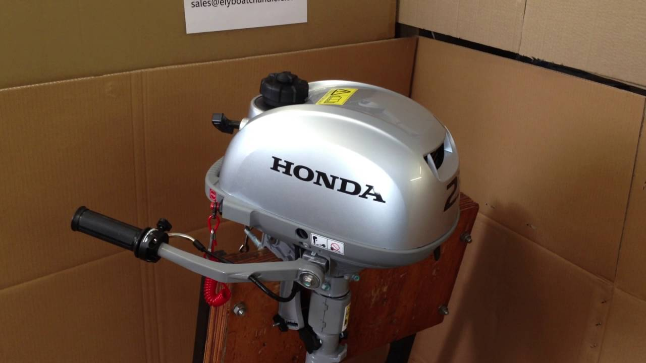 New Honda 2 3hp Outboard Review