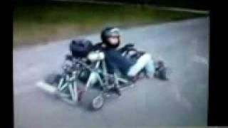 un kart avc un moteur de moto
