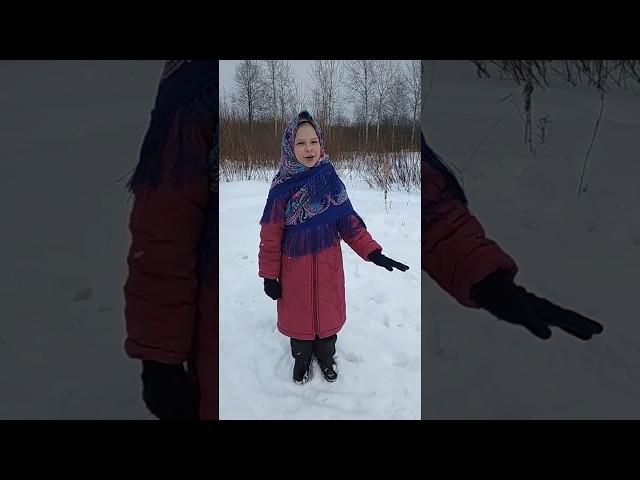Изображение предпросмотра прочтения – МарияКондакова читает произведение «Весна красна» (Русский фольклор )