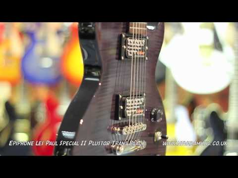epiphone-limited-edition-les-paul-special-ii-plustop-trans-ebony---quick-look