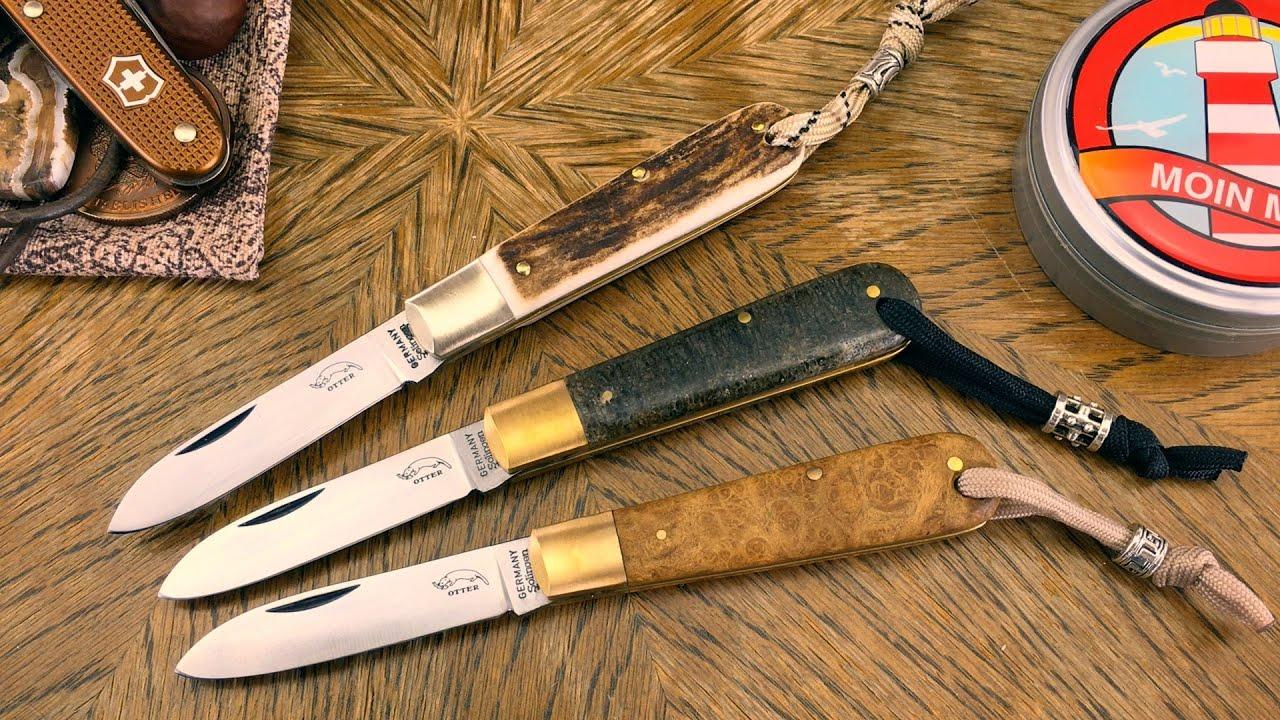 Otter-Messer Modell 166 (HH): Kompaktes EDC-Taschenmesser