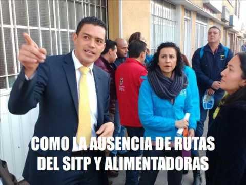 Gerente de TransMilenio visita Fontibón