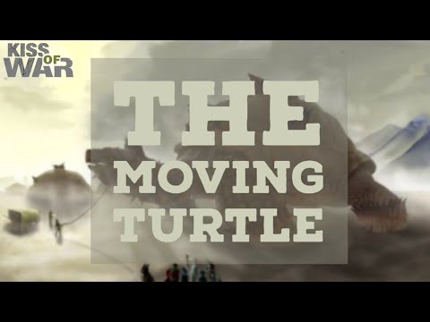 The Moving Turtle War Strategy (Pentagon Guaranteed) - Kiss of War