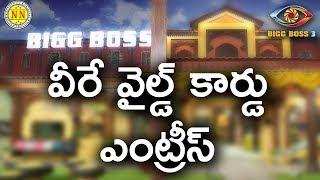 Wild Card Entries Revealed   Bigg Boss 3 Telugu   Bigg Boss   NN TV