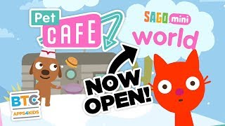 Pet Cafe Now in Sago Mini World App for Kids