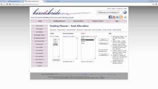 Wedding Seating Planner Online Free
