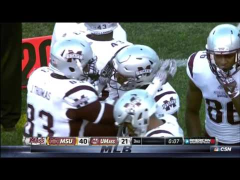 Farrod Green - First career TD reception at Mississippi State