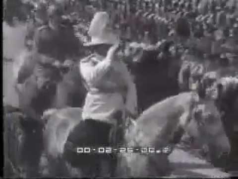 Cdg Gen. Bahadur Shamsher Jang Bahadur Rana in Rome, Italy - 1934