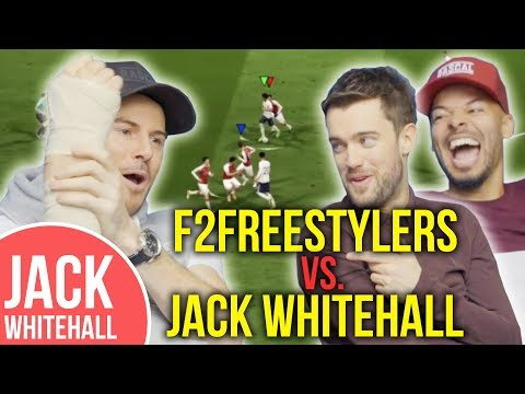 Jack Whitehall vs. F2 Freestylers   FIFA with a Broken Arm!