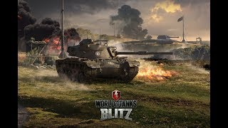 World of Tanks Blitz WOT gameplay playing with Dynamic Leopard EP277(11/07/2018)