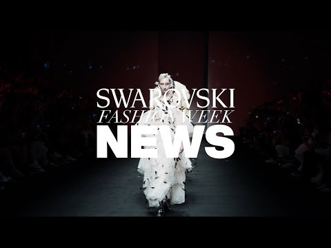 Crystal on the Catwalk: Swarovski Shines At SHFW SS20