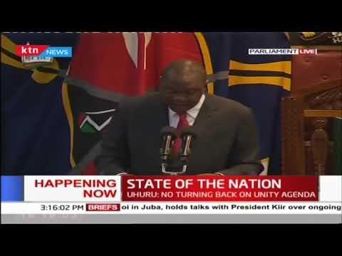 President Uhuru Kenyatta's full speech during 2019 State of the Nation Address