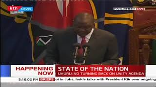 President Uhuru Kenyatta's full speech during 2019 State of the Nation Address