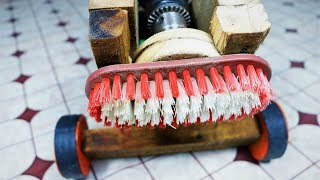 Home made  Floor Cleaning Machine | DIY.