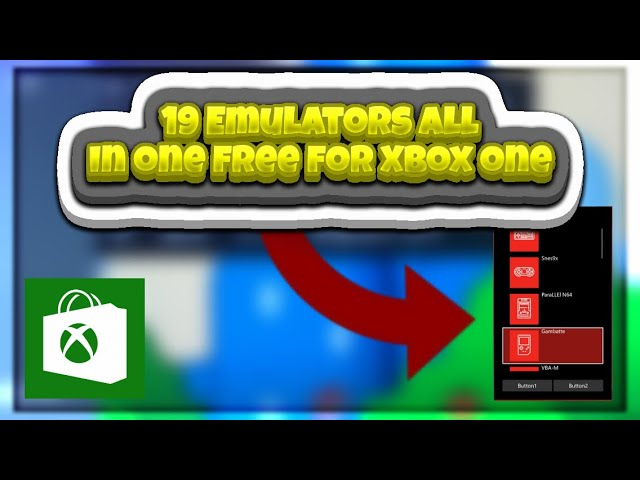 New HUGE Multi Emulator On The Xbox One Store! Get It Before It's Gone!  FREE!