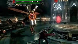Devil May Cry 4 - Boss Battle 12 Angelo Agnus - Dante